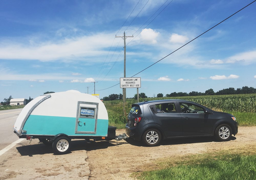This past summer, Maria and Mandii went on a month-long road trip across the United States with their teardrop trailer in tow. We were inspired by their story of two best friends taking on the open road and seeking adventure throughout our beautiful country, so we wanted to share their story with you.
