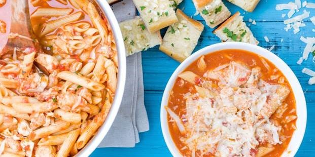CHICKEN PARM SOUP