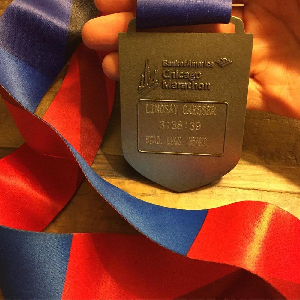 Lindsay's medal
