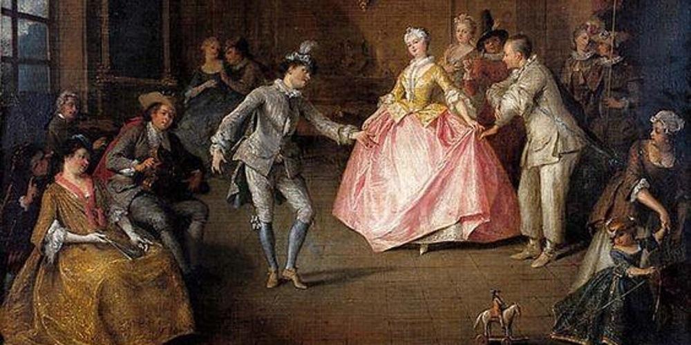 Nicolas Lancret, Avant le bal costumé (1743)