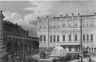 Wilhelmstraße 102, later the Prinz-Albrechtt-Palais