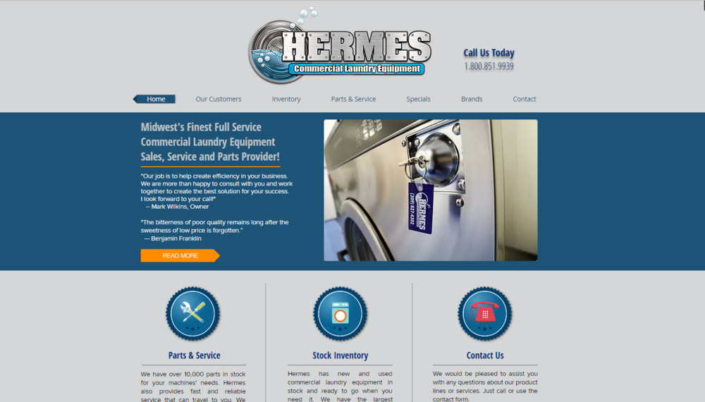 Hermes Commercial Laundry