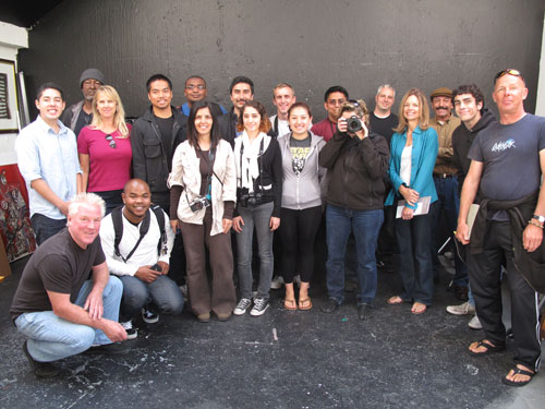 an image of Greg Mettler & Photography Class from Monterey Peninsula College