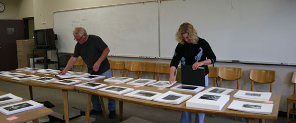 Image of The Weston Scholarship exhibit selection process