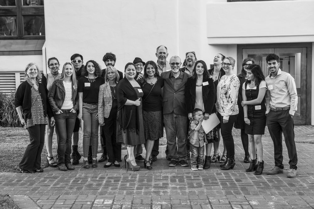 MPC photography students and instructors at the 2017 Weston Scholarship Exhibition at the Monterey Museum of Art. Photo: © Michelle Magdalena Maddox