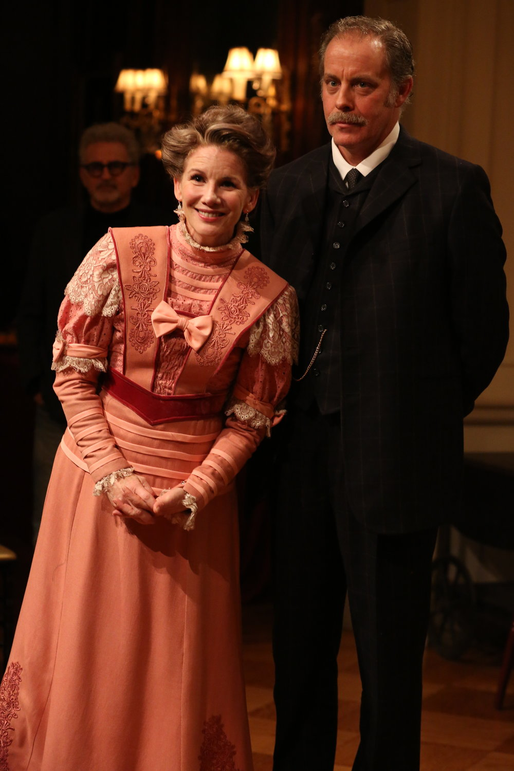 Melissa Gilbert and Rufus Collins in Irish Rep's THE DEAD, 1904.Photo by Carol Rosegg (2).JPG