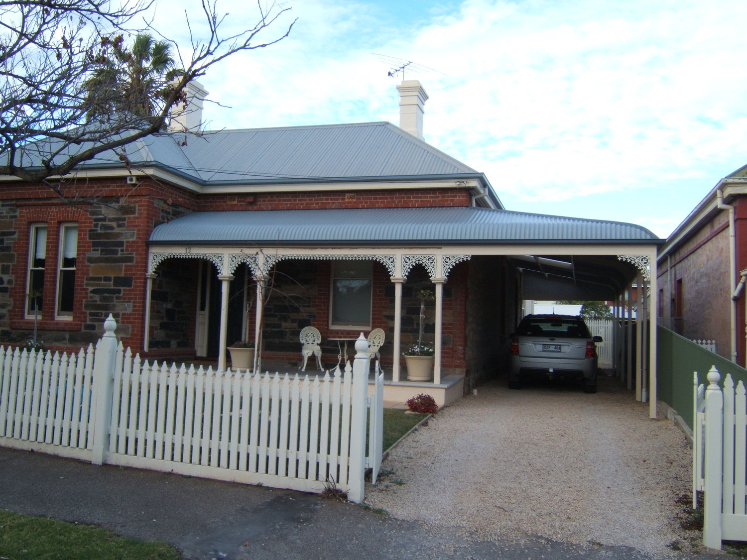 return style bullnose verandah and carport prospect