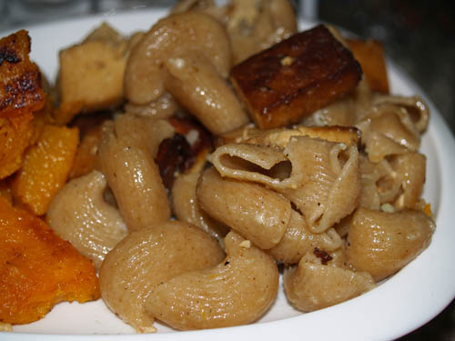 kabocha and noodles 2