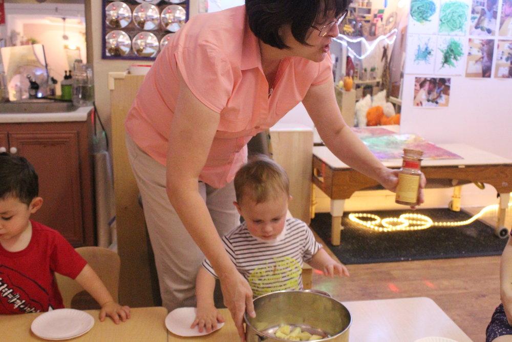 This week we had cooking with Diane!