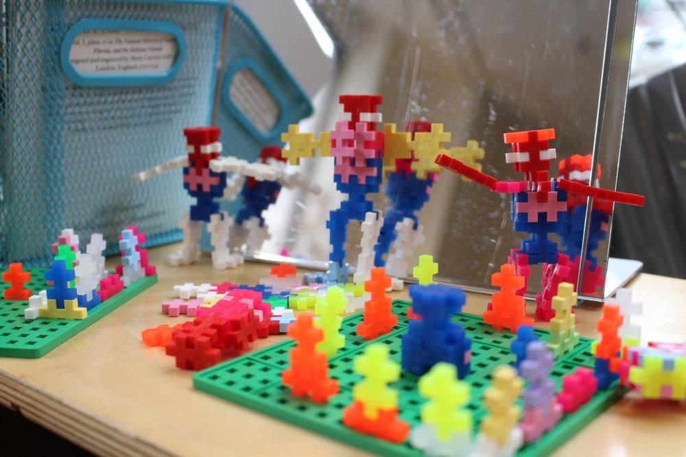 """""""Robot school!"""" -C.J."""