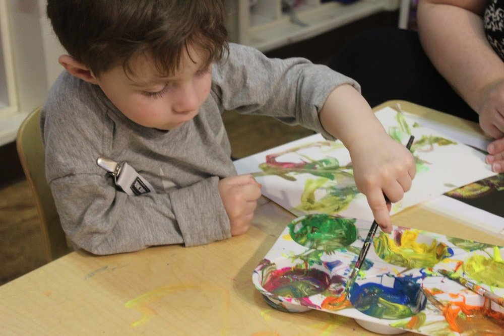 Max painting chameleon.JPG