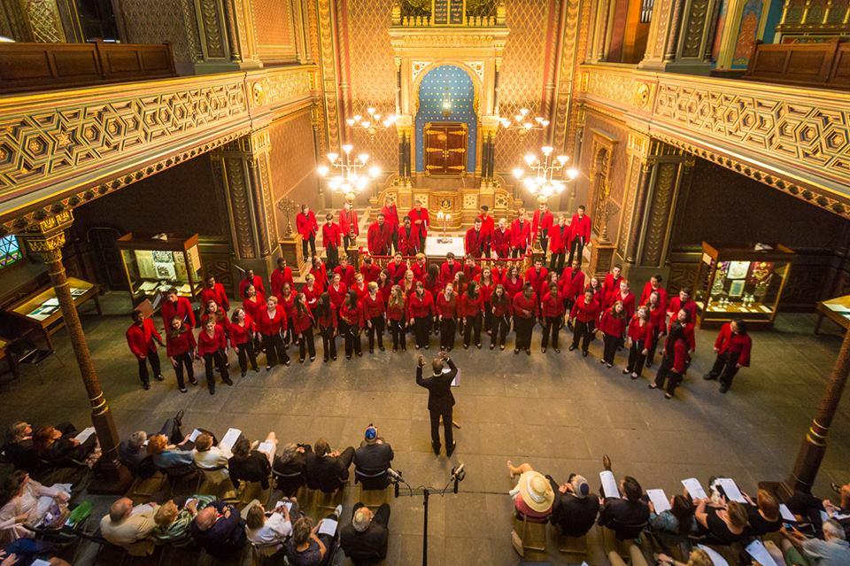 BCC Performs at the Spanish Synagogue in Prague