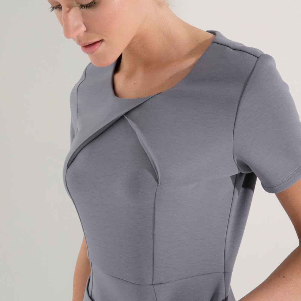 health care age care uniform grey