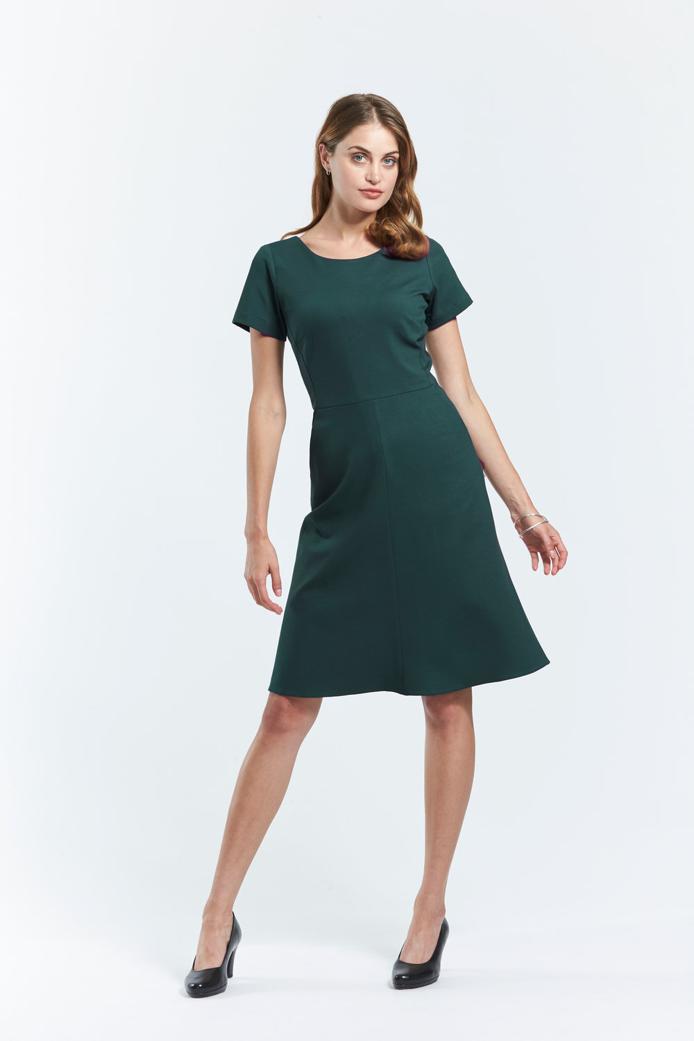 health care age care uniform ponte dress