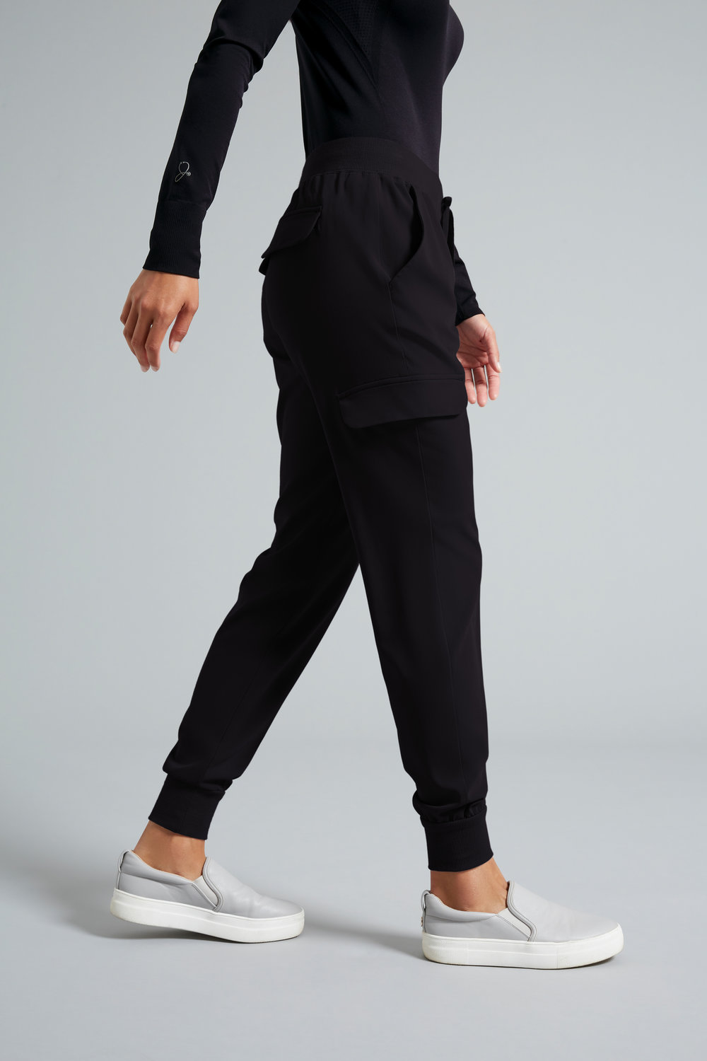health care age care uniform trousers black