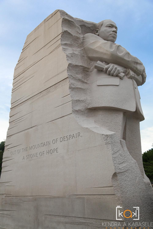 Martin Luther King, Jr. Memorial, Washington, DC (July 2016)