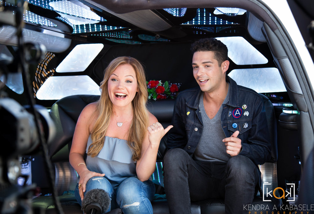 Wells Adams surprises Lisa in the limo!