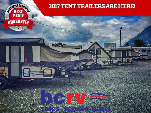 2017 Real Lite Tent Trailers on display now! Open House pricing in effect! Payments from just $49 bi-wkly! #tent #camping #summer #fun #RV #family #happycamper