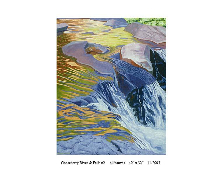 4) 11-2005 Gooseberry River & Falls #2 40 x 32.jpg
