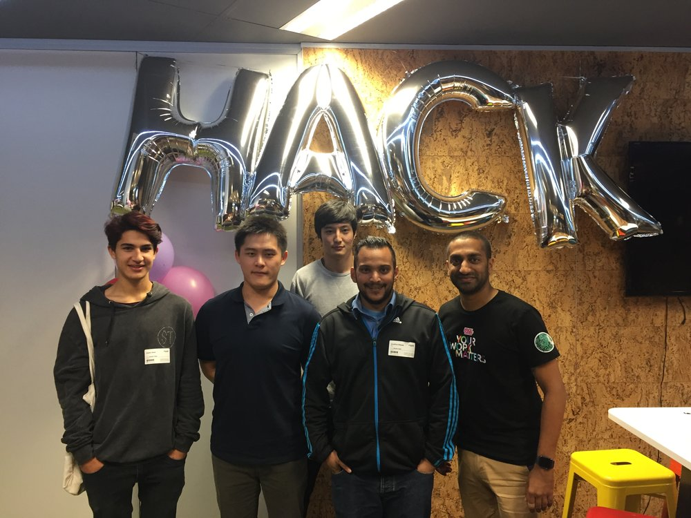 AMES_Students_At_MYOB_HackDay