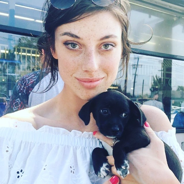 """I need to stop holding these puppies before I adopt all of them... 🐶🐶🐶 So in love!!!! 💓 "" @maandzz #adoptdontshop #puppylove"