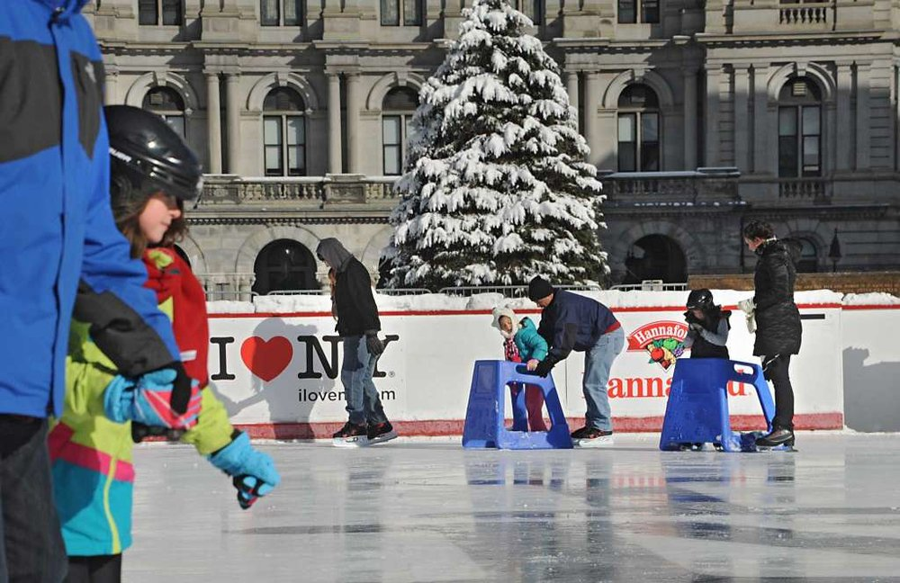 Free Ice Skating: Skate Rentals start at $3