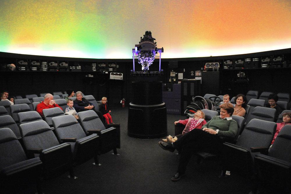 The miSci Science Center and Planetarium
