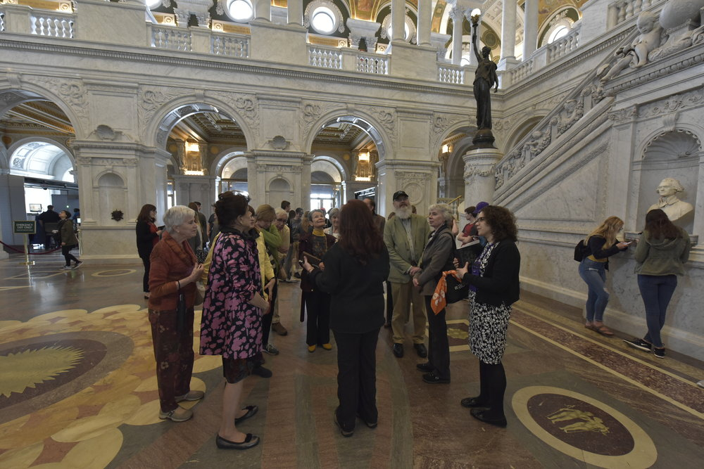 Private Tour of the Library of Congress