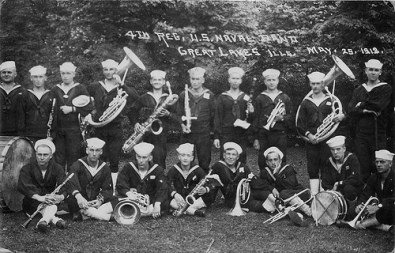U.S. Navy Band- Great Lakes 1918