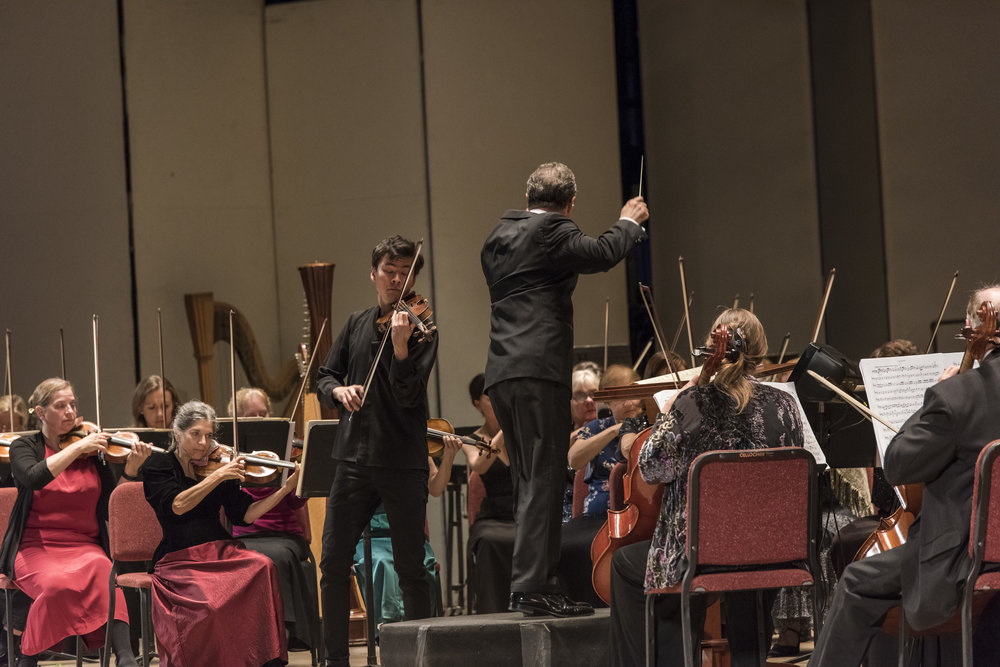 Stefan Jackiw performing Brahms Violin Concerto in D major, Op. 77 with the Albany Symphony