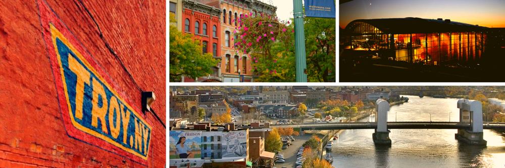 Downtown Troy | A Unique Cultural Destination and the perfect backdrop for the American Music Festival.