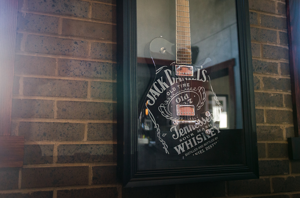 Whiskey Kitchen Nashville Rock N' Roll Jack Daniels