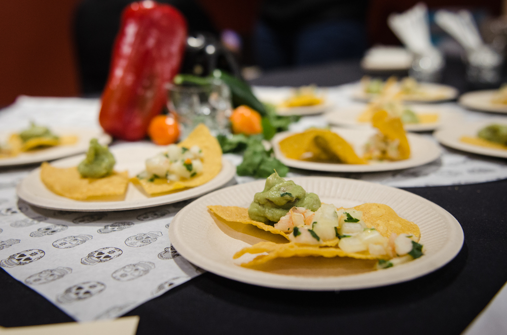 Chips, guac, and ceviche: some of  Saint Añejo's  most popular menu items