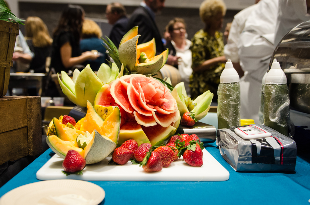Nashville State Community College Escoffier Society's fruit art
