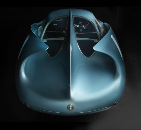 Source: 1954 Alfa Romeo BAT 7. The Blackhawk Collection. Image © 2016 Peter Harholdt @ Frist