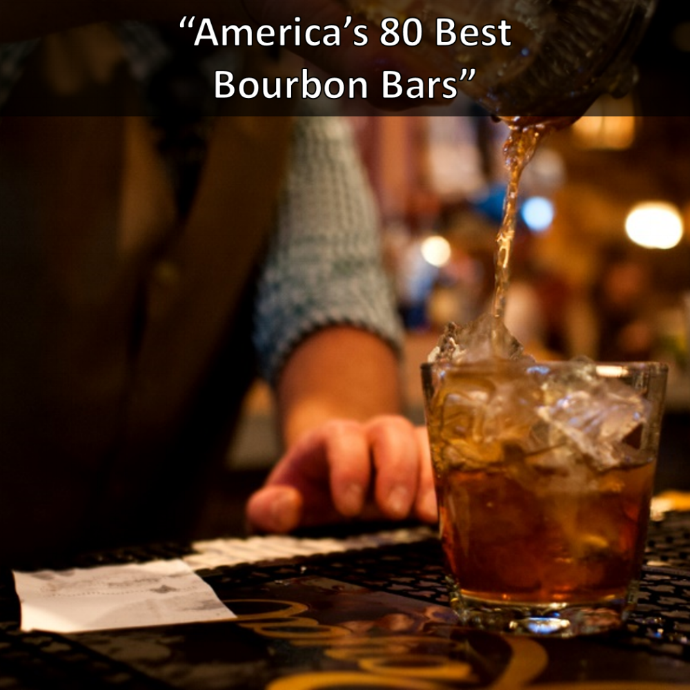 Whiskey Kitchen America's Best Bourbon Bars