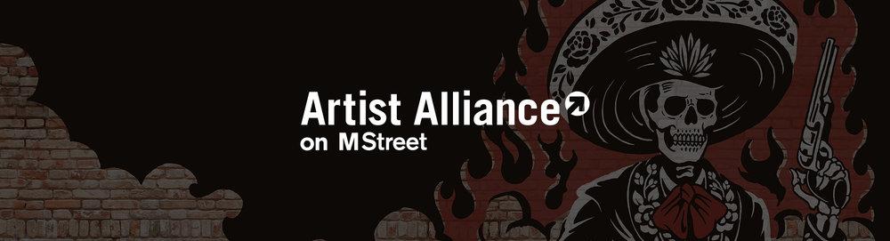 Bien connu M Street— Artist Alliance NN37