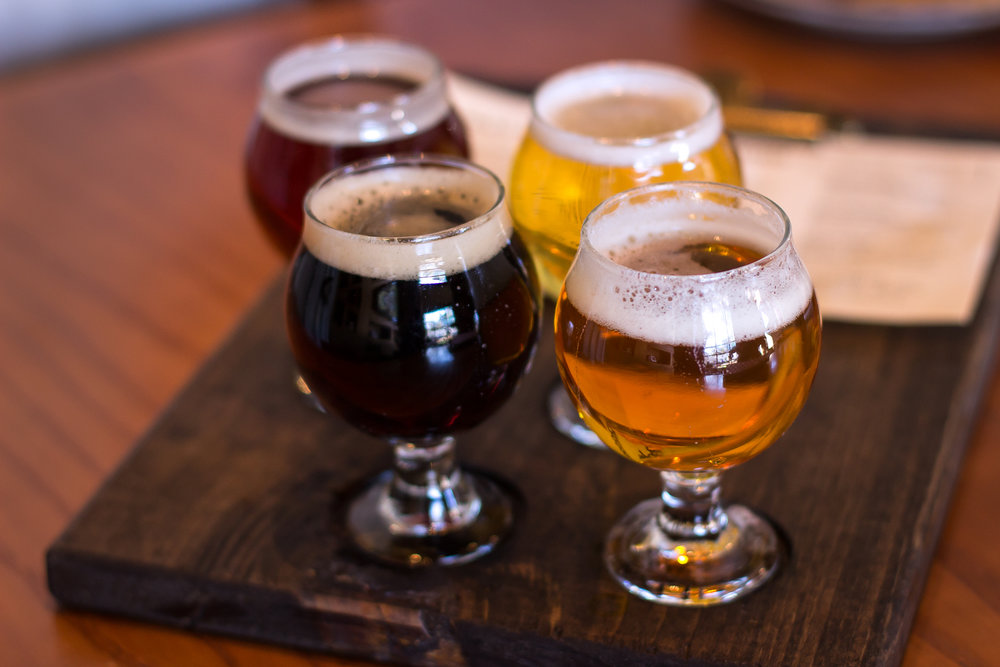 Tavern Craft Beer Flight