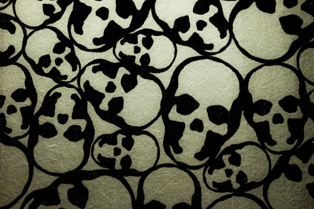 Saint Anejo sugar skull