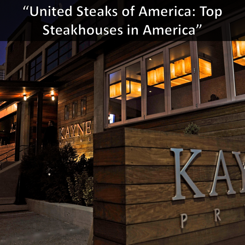 Best Steakhouses in America