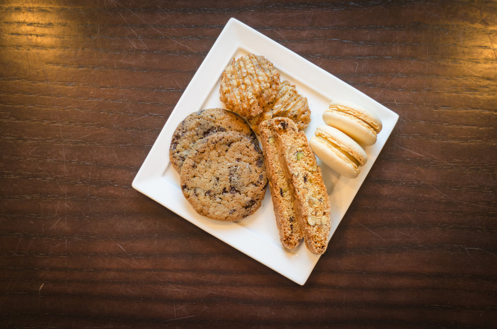 Pastry Chef Nasera's cookie plate