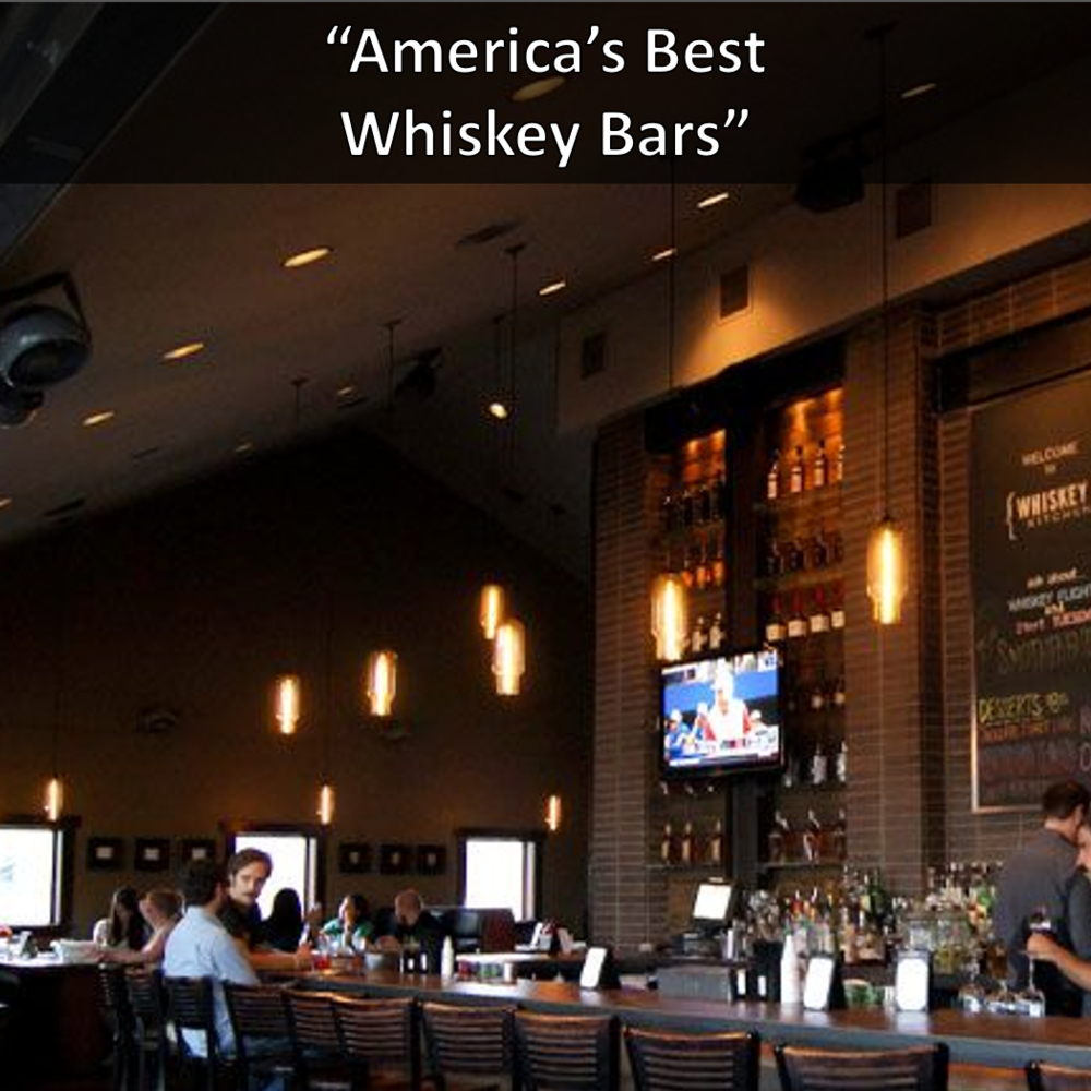 America's Best Whiskey Bars