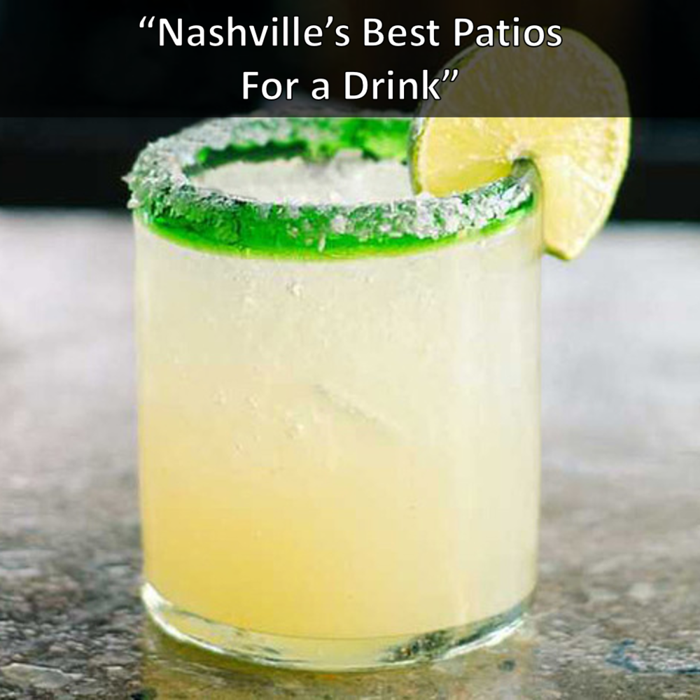 Nashville's Best Patios