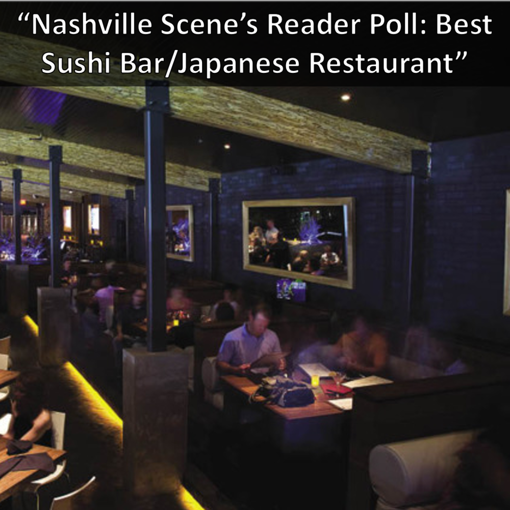 Nashville Scene Reader's Poll: Best Sushi Bar/Japanese Restaurant: Virago
