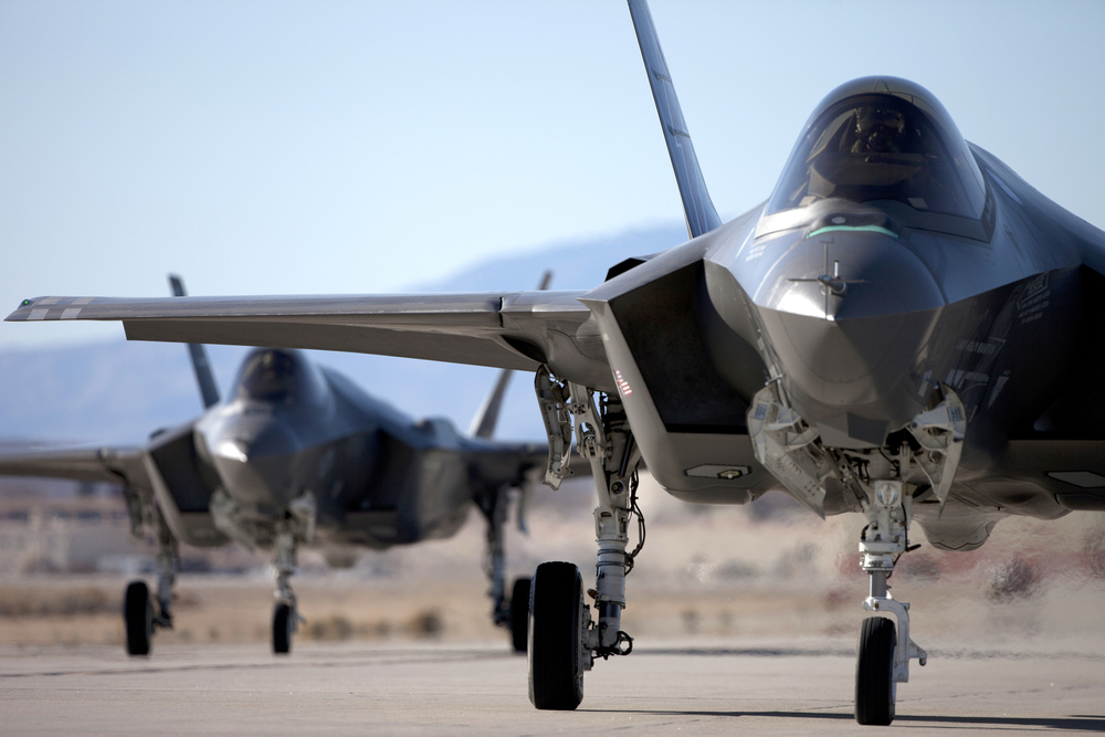 LOCKHEED MARTIN FIGHTER AIRCRAFT