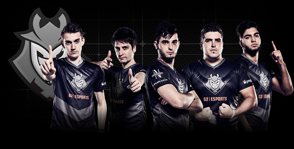 g2 esports team photo