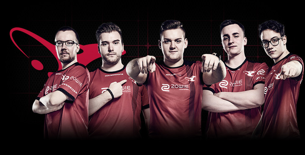 mousesports team photo