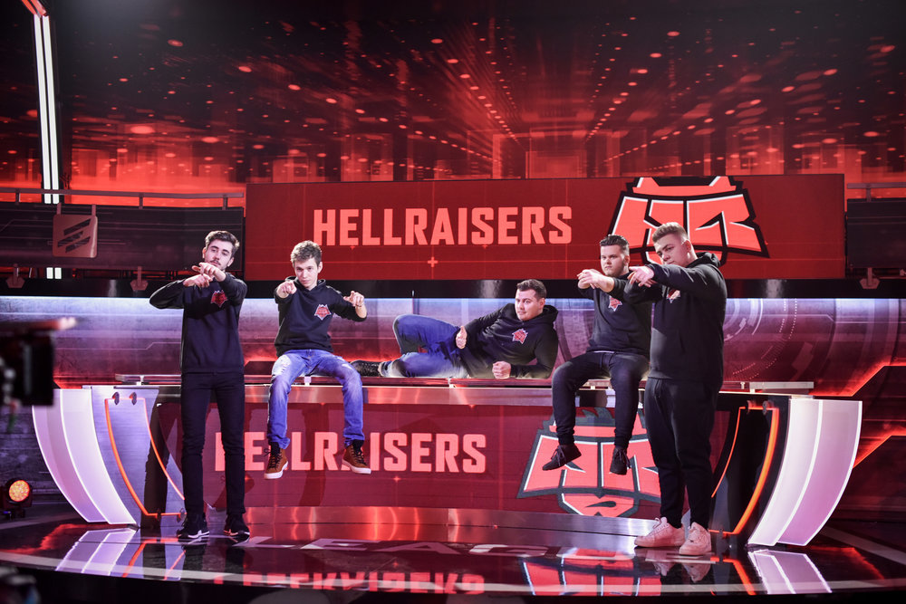 Hellraisers team photo