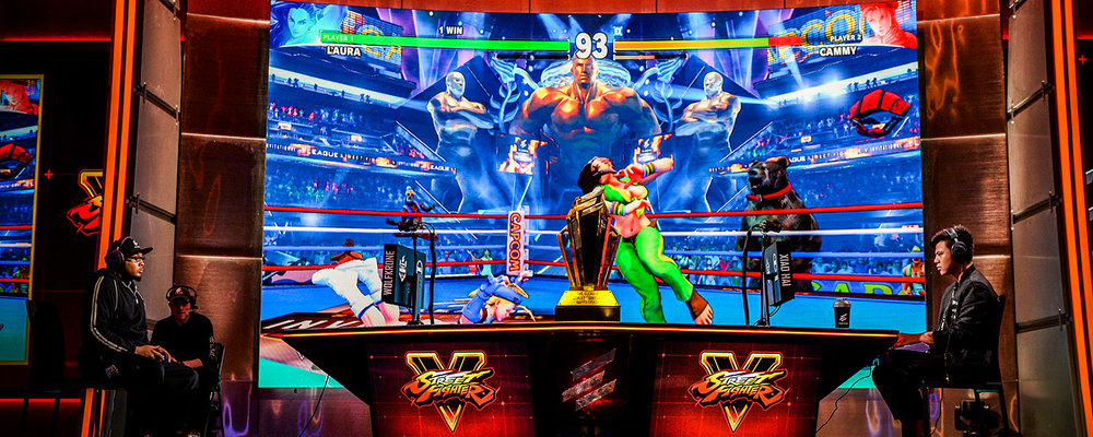 ELEAGUE Street Fighter V - Playoffs May 26, 2017 Turner Studios, Atlanta, Georgia