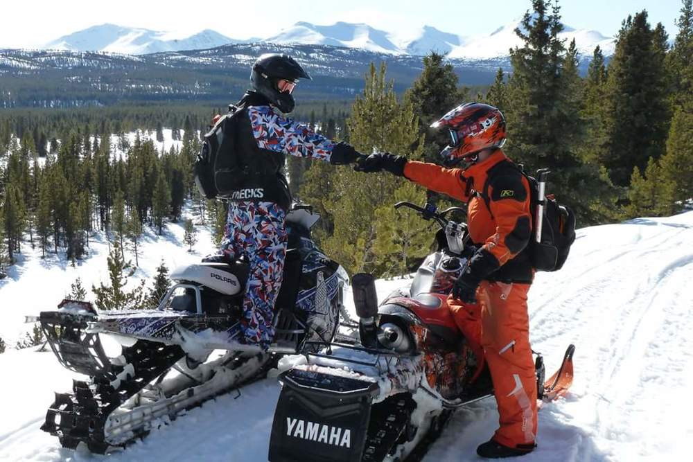 snowmobiler with rotationplasty